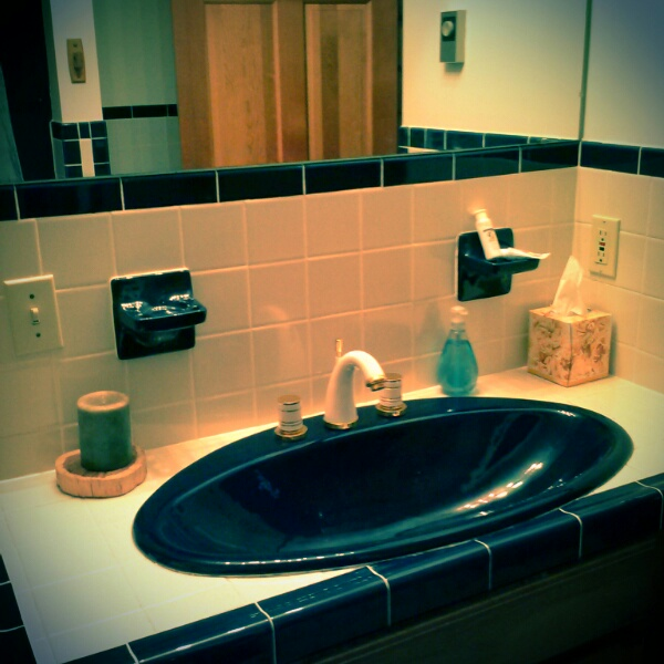 Bathroom #1.